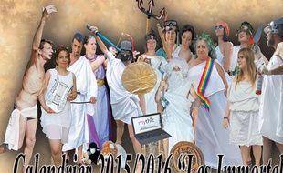 Pour dénoncer la disparition du latin et du grec au collège, des enseignants ont lancé, en septembre 2015, un calendrier parodique