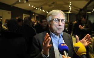 Jean-Pierre Masseret le 9 décembre 2015 à Sarreguemines
