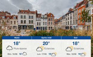 Météo Lille: Prévisions du samedi 15 juin 2019