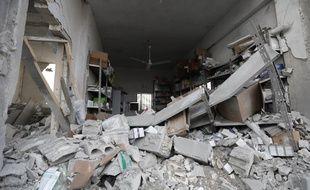 Un hôpital de la province d'Idlib en Syrie.