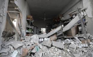 Un hôpital de la province d'Idlib, en Syrie
