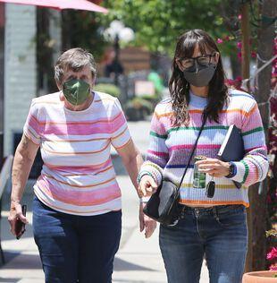 Jennifer Garner et sa maman Patricia, le 28 mai.