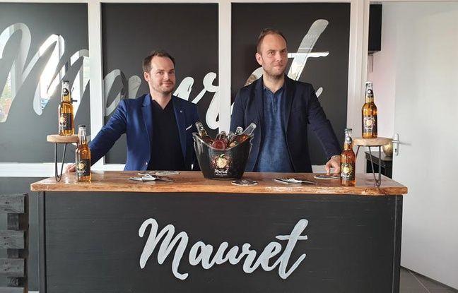 Romain Sauret et Maxime Wolff ont lancé Mauret