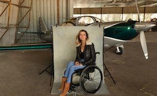 Dorine Bourneton, aviatrice et autrice qui a inspiré « Au-dessus des nuages »