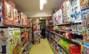 Un magasin de jouets La grande récré en décembre 2015.