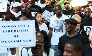 Marche, samedi 7 mars à Maputo, en hommage à l'universitaire franco-mozambicain Gilles Cistac, assassiné le 3 mars