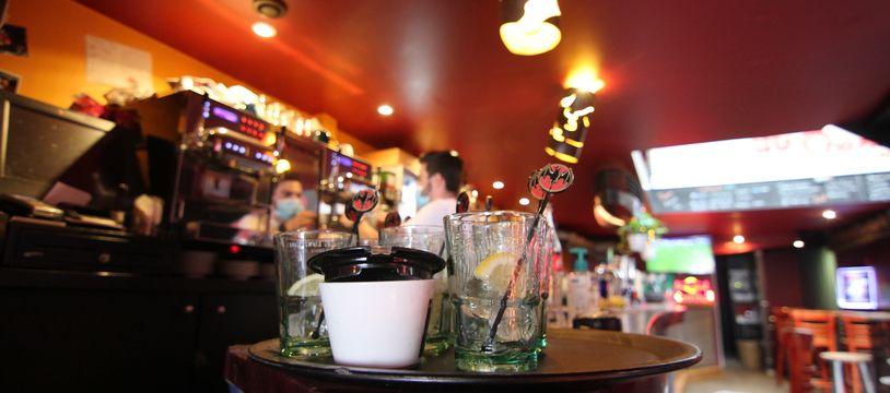 Illustration d'un bar de Rennes.