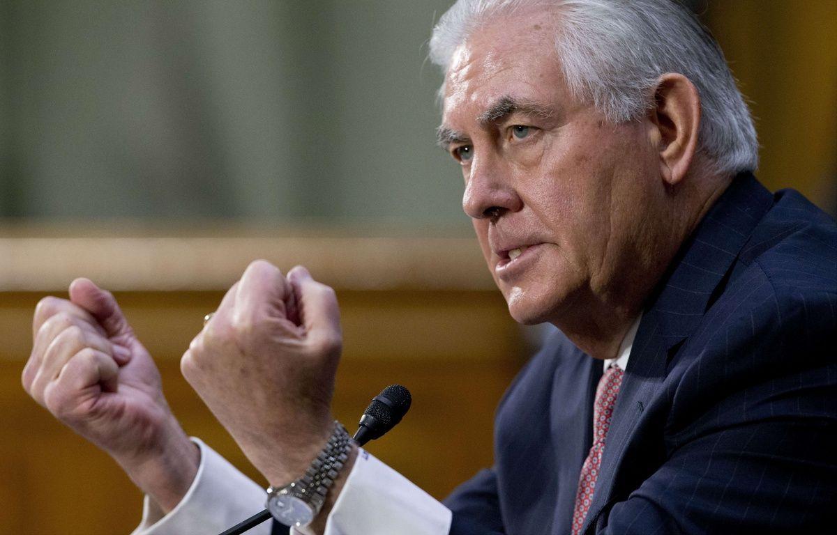Rex Tillerson, secrétaire d'Etat américain. – Steve Helber/AP/SIPA