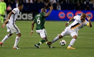 Nigel De Jong, le milieu de terrain du Los Angeles Galaxy, le 10 avril 2016.