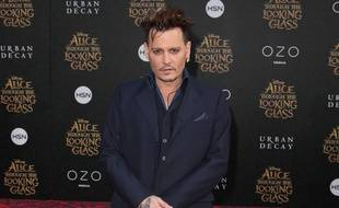 L'acteur Johnny Depp à Los Angeles
