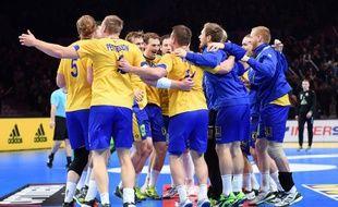La Suède fête sa qualification pour les quarts de finale du Mondial