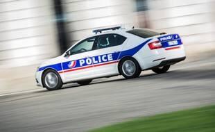 Une voiture de police en mai 2020 (illustration)