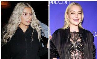 Kim Kardashian et Lindsay Lohan se sont disputées sur les réseaux sociaux.