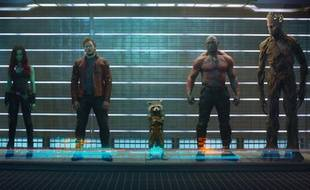 Première photo officielle pour le film Les Gardiens de la Galaxie.