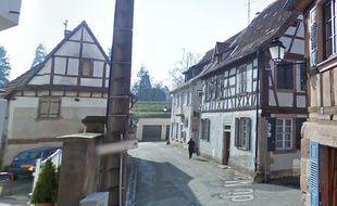 L'accident s'est produit rue du Maire Teutsch à Wissembourg.
