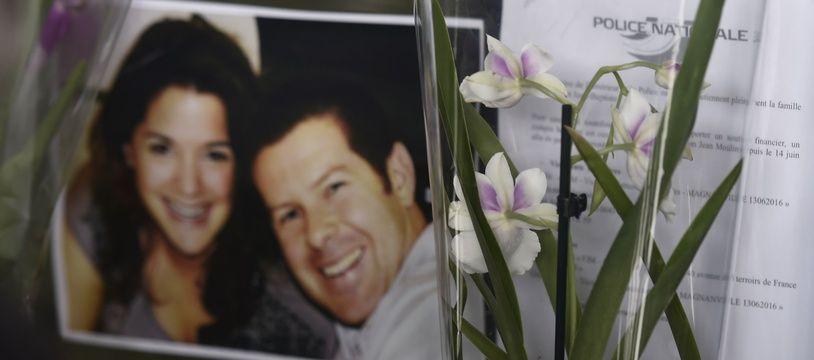 Le couple de policiers tués à Magnanville