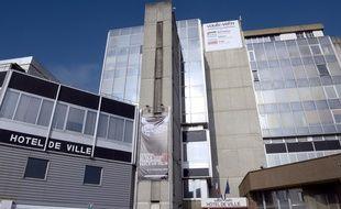 L'hôtel de ville de Vaulx-en-Velin.