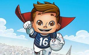 Super Victor, la mascotte officielle de l'Euro 2016