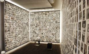 Le Mur des enfants du Mémorial de la Shoah, à Paris