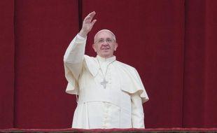 Le pape François, le 25 décembre 2013, au Vatican.