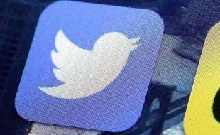 L'oiseau bleu de Twitter.