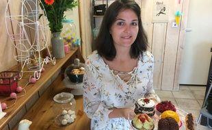 Charline Savanier a ouvert une pâtisserie sans gluten à Talence.