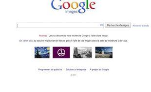 Capture d'écrans de la fonction recherche dans Google Images