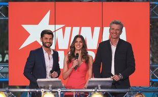 Iris Mittenaere a présenté «Ninja Warrior» aux côtés de Christophe Beaugrand et Denis Brogniart.