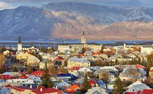 Reykjavik, la capitale de l'Islande.