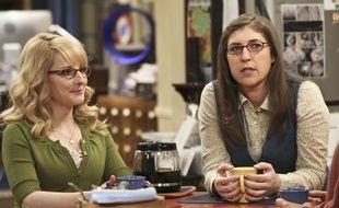 Melissa Rauch et Mayim Bialik, interprètes de  Bernadette et Amy dans «The Big Bang Theory»