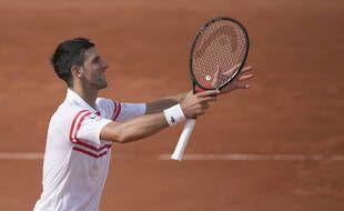 Novak Djokovic, le 3 juin 2021 à Roland-Garros.