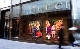 Boutique Gucci à New York.