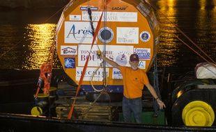 Jean-Jacques Savin est arrivé de nuit en Martinique après un périple en mer de 127 jours et 5.800 km.