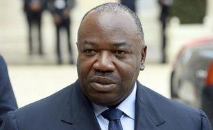 Le président gabonais Ali Bongo le 8 avril 2014 à l'Elysée à Paris