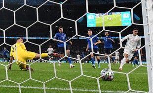 Morata a égalisé contre la Nazionale.