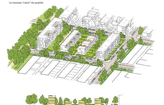 nantes pr s de 1800 logements annonc s au nouveau quartier champ de man uvre. Black Bedroom Furniture Sets. Home Design Ideas