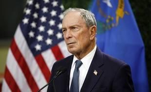 Michael Bloomberg le 26 février 2019 à Las Vegas. (AP Photo/John Locher)