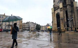 Bordeaux sous la pluie