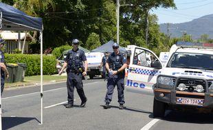 Illustration police australienne.