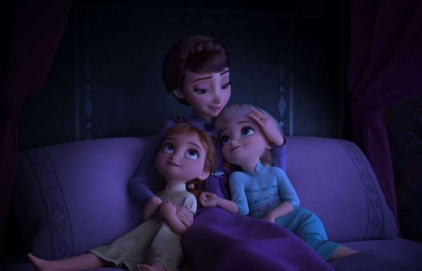 Video La Reine Des Neiges 2 Fait Deja Briller Les Yeux Des
