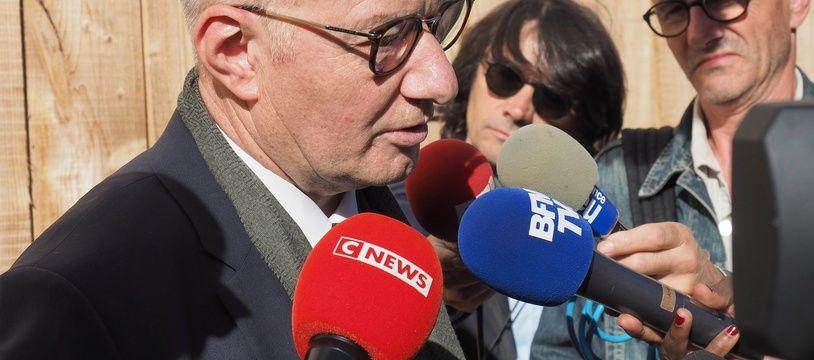 Me Bernard Boulloud, l'avocat des parents de Thomas Rauschkolb.