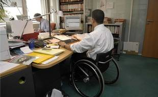 Handicap et travail (illustration).