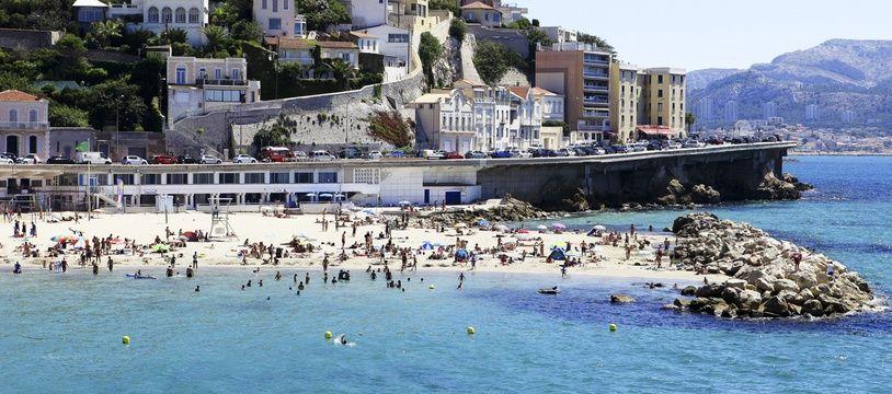 La plage du Prophète à Marseille est la plus touchée par les fermetures.