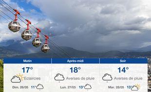 Météo Grenoble: Prévisions du samedi 25 mai 2019