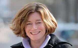 La journaliste Natalie Nougayrède, en février 2013 à Paris.