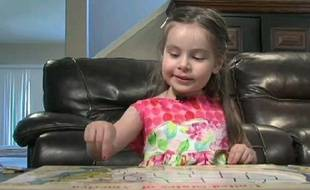 Une fillette américaine de 3 ans a le même QI qu'Albert Einstein.