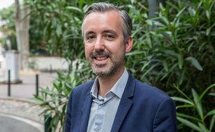 Le candidat écologiste Antoine Maurice, tête de la liste d'union de la gauche Archipel citoyen pour les municipales 2020 à Toulouse.