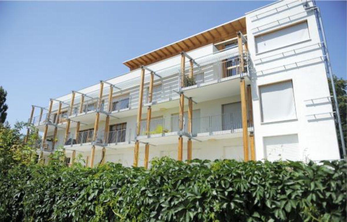 Eco-logis est le premier immeuble écologique de la ville construit en autopromotion. –  G. Varela / 20 minutes