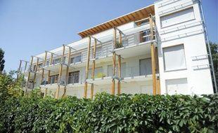 Eco-logis est le premier immeuble écologique de la ville construit en autopromotion.