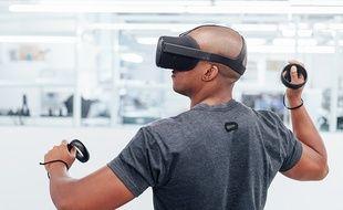 Santa Cruz, le prototype de casque autonome de réalité virtuelle d'Oculus.